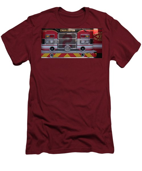 Engine Number Two Men's T-Shirt (Slim Fit) by Patricia Schaefer