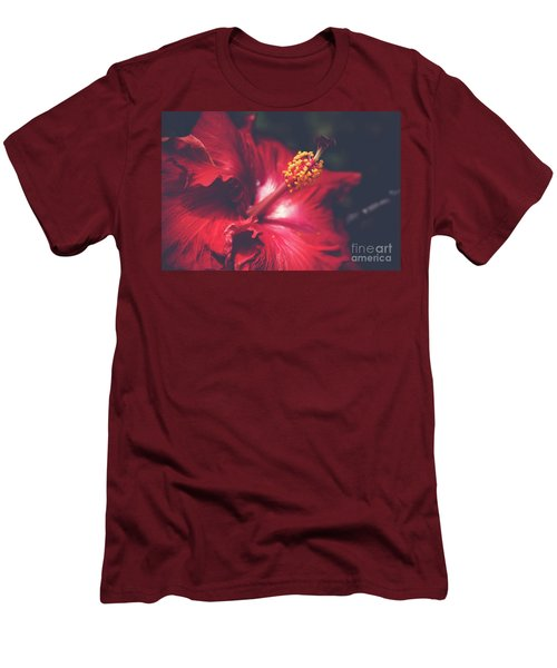 Men's T-Shirt (Slim Fit) featuring the photograph Evening Whispers by Sharon Mau