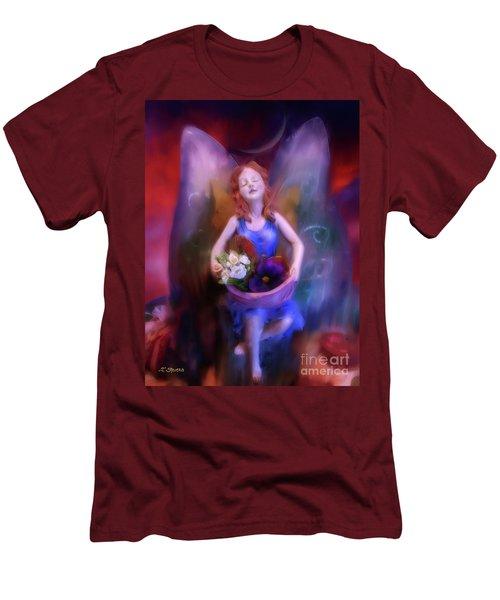 Fairy Of The Garden Men's T-Shirt (Slim Fit) by Joseph J Stevens