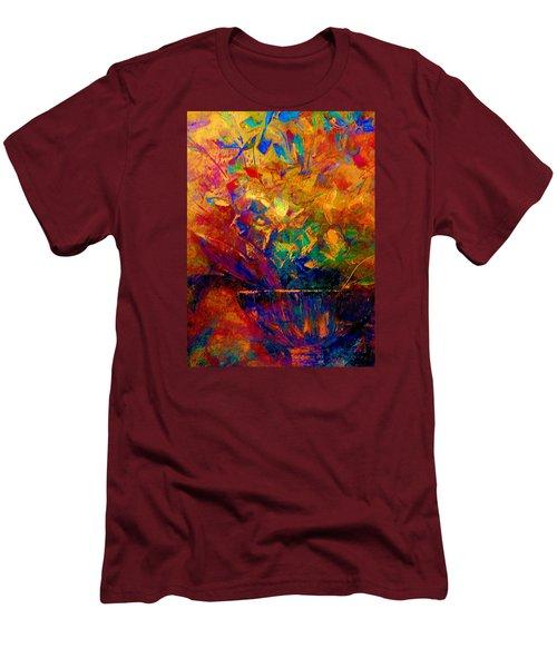 Fall Bouquet  Men's T-Shirt (Slim Fit) by Lisa Kaiser