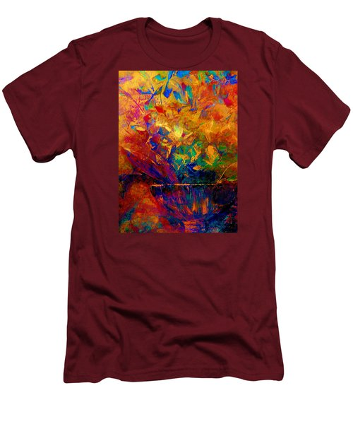 Fall Bouquet  Men's T-Shirt (Athletic Fit)