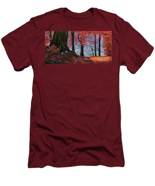 Fall Colors II Men's T-Shirt (Slim Fit) by Michael Frank