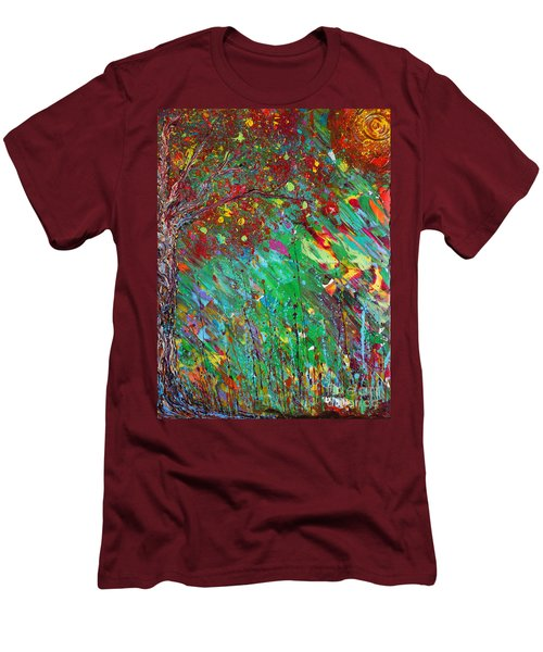 Fall Revival Men's T-Shirt (Slim Fit) by Jacqueline Athmann