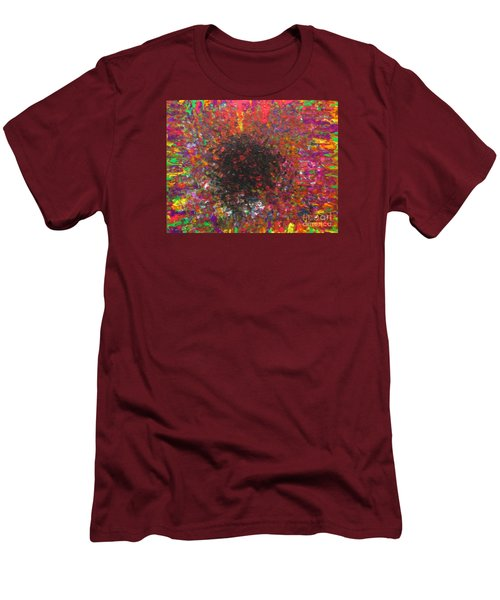 Men's T-Shirt (Slim Fit) featuring the painting Falling by Jacqueline Athmann