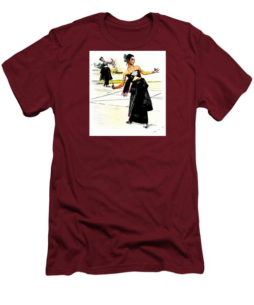 Festival Celebration Men's T-Shirt (Slim Fit) by Ian Gledhill