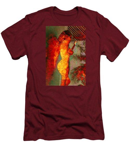 Fire Angel Men's T-Shirt (Slim Fit) by Andrea Barbieri