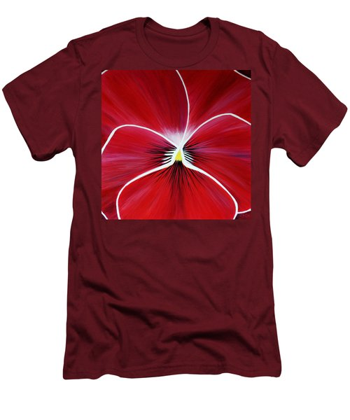 Flower Abstract 3 Men's T-Shirt (Athletic Fit)