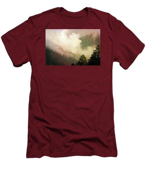Fog Competes With Sun Men's T-Shirt (Slim Fit) by AugenWerk Susann Serfezi
