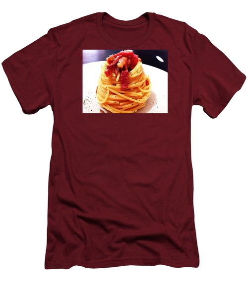 Food Art Pasta By Alessia Golosi Peccati Foodblog Men's T-Shirt (Athletic Fit)