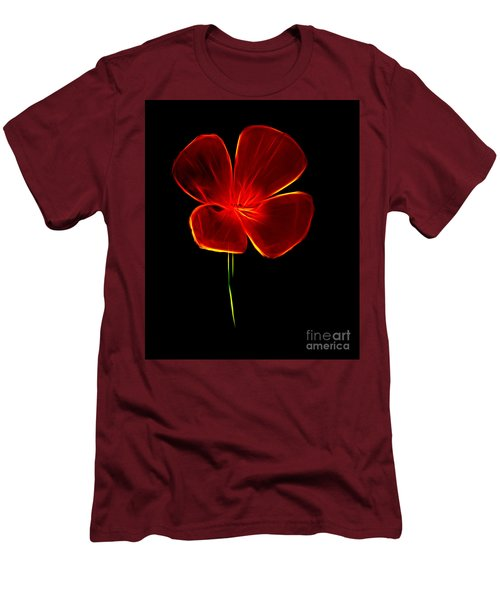Four Petals Men's T-Shirt (Athletic Fit)