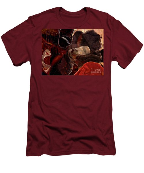 Fragments Of Memory Men's T-Shirt (Slim Fit) by Kathie Chicoine