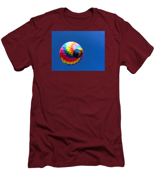 Men's T-Shirt (Slim Fit) featuring the photograph Free by Brenda Pressnall