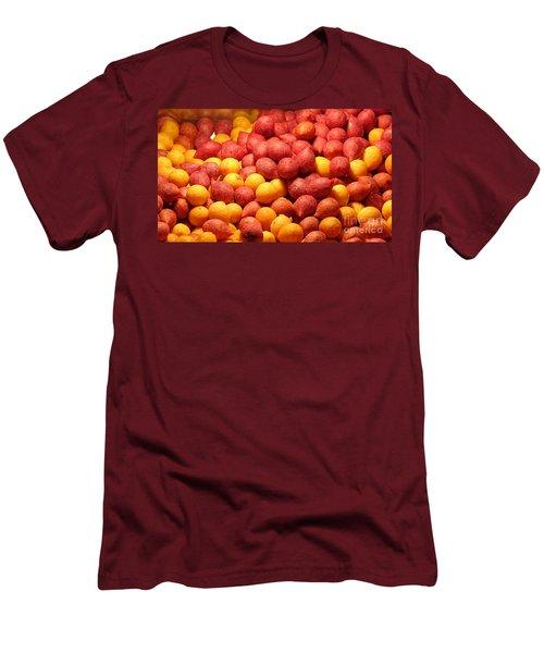 Men's T-Shirt (Slim Fit) featuring the photograph Fried Sweet Potato Balls by Yali Shi