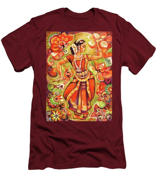Ganges Flower Men's T-Shirt (Athletic Fit)