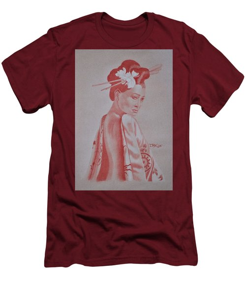 Geisha Men's T-Shirt (Athletic Fit)