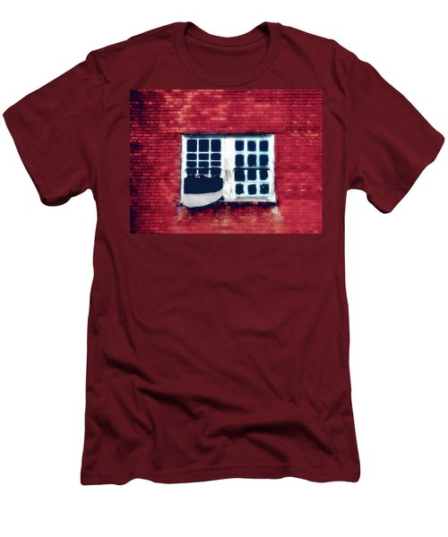 Ghostly Window Men's T-Shirt (Athletic Fit)