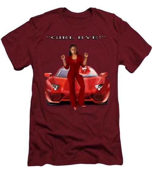 Girl Bye Men's T-Shirt (Athletic Fit)