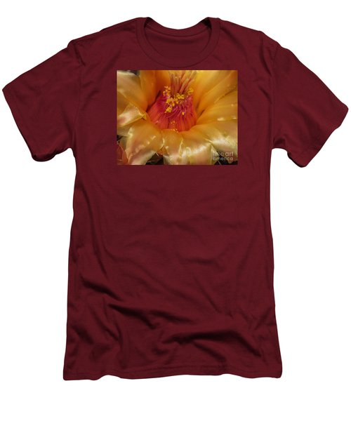 Golden Flower 1 Men's T-Shirt (Athletic Fit)