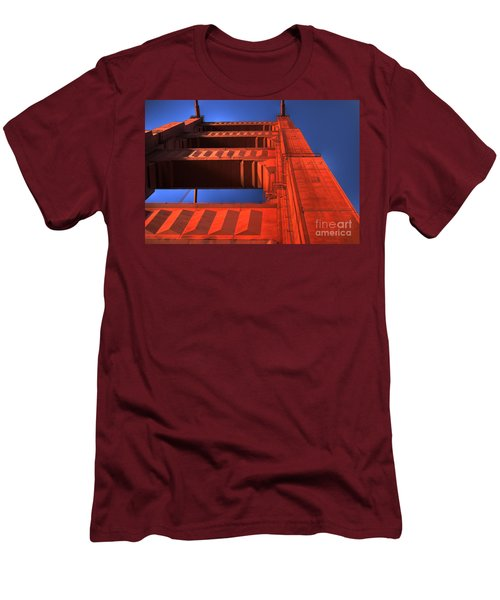 Golden Gate Tower Men's T-Shirt (Athletic Fit)