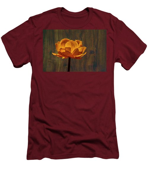 Golden Orange #g0 Men's T-Shirt (Slim Fit) by Leif Sohlman
