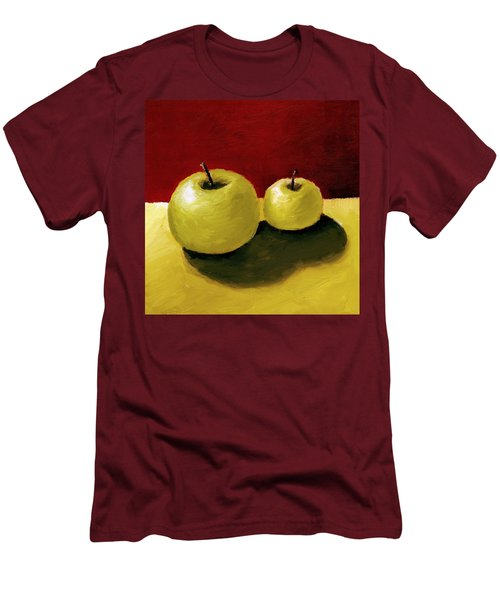 Granny Smith Apples Men's T-Shirt (Athletic Fit)