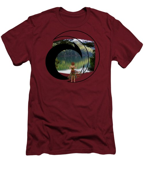 Green Reflections Men's T-Shirt (Athletic Fit)