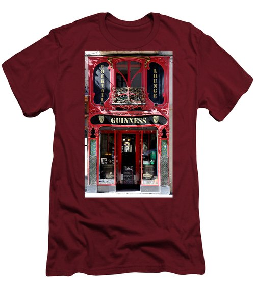 Men's T-Shirt (Slim Fit) featuring the photograph Guinness Beer 5 by Andrew Fare