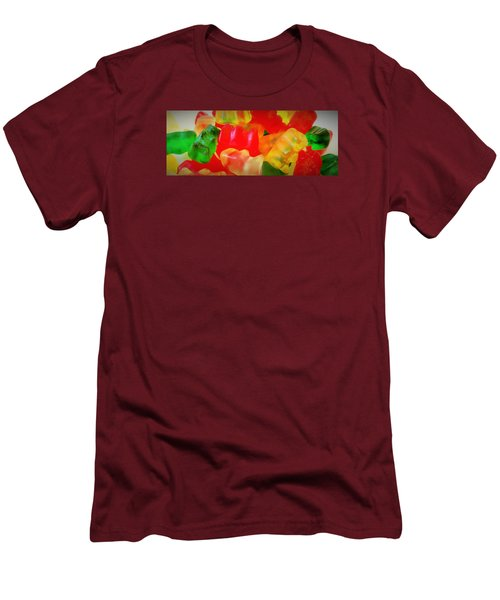 Gummies Men's T-Shirt (Slim Fit) by Martin Cline