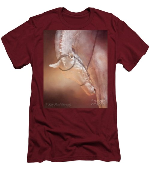 Head Down Men's T-Shirt (Slim Fit) by Kathy Russell