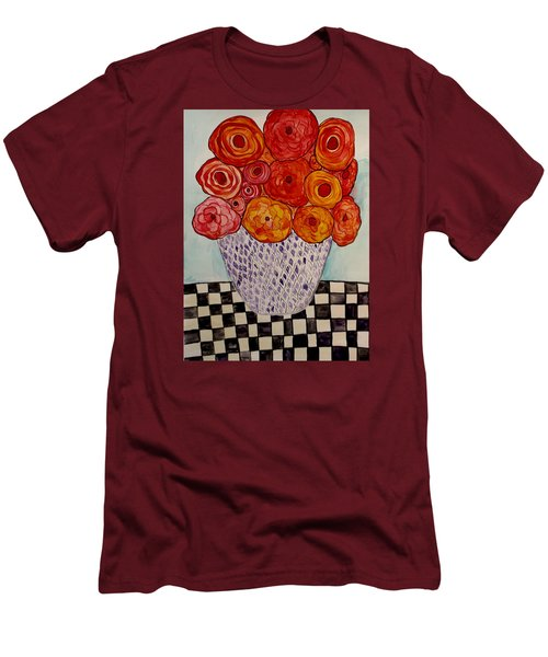 Heart And Matter Men's T-Shirt (Slim Fit) by Lisa Aerts