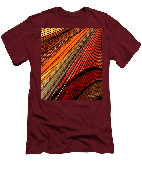 Highway To Sun Men's T-Shirt (Slim Fit) by Thibault Toussaint
