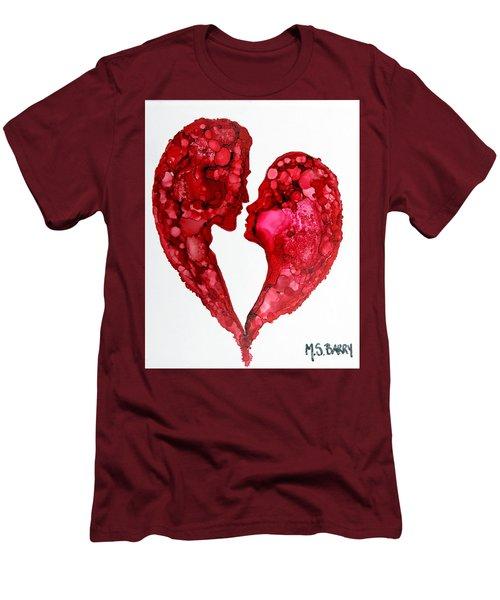 Human Heart Men's T-Shirt (Athletic Fit)