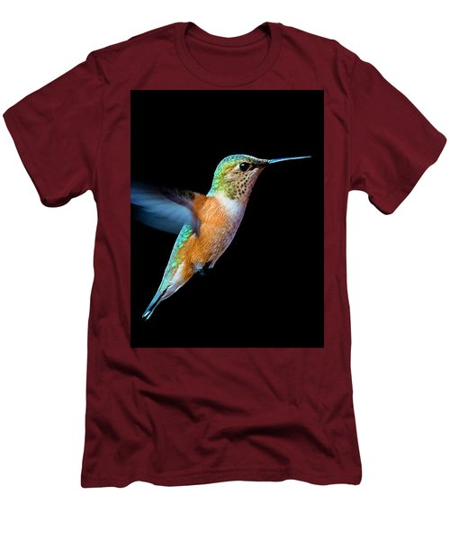 Hummming Bird Men's T-Shirt (Athletic Fit)