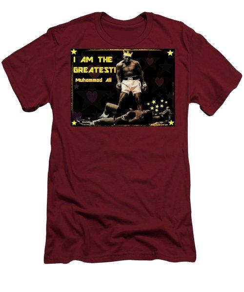 I Am The Greatest Men's T-Shirt (Slim Fit) by Peter Gumaer Ogden