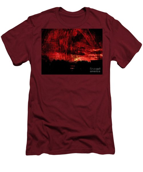 In A Red World Men's T-Shirt (Athletic Fit)