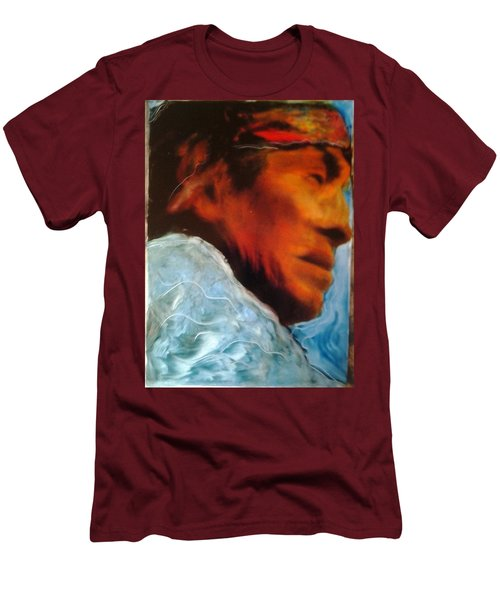 In Cool Clear Waters Men's T-Shirt (Slim Fit) by FeatherStone Studio Julie A Miller