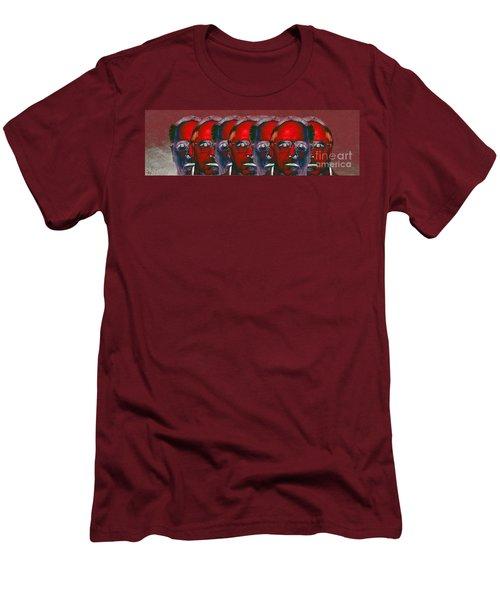 Inner Light Men's T-Shirt (Slim Fit) by Ron Bissett