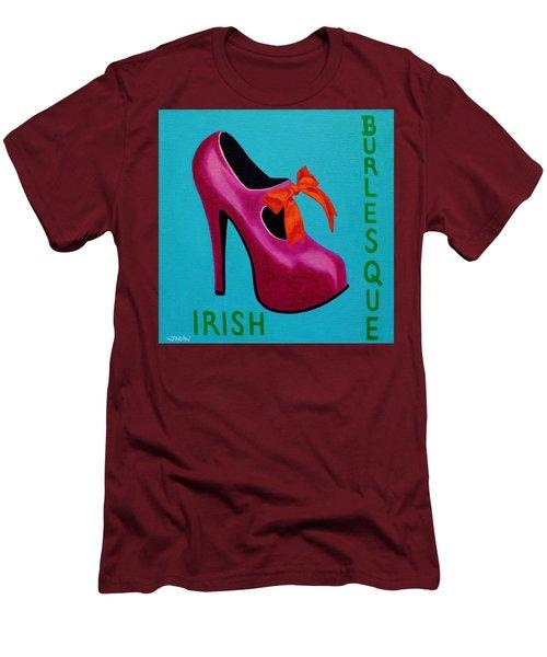 Irish Burlesque Shoe    Men's T-Shirt (Slim Fit) by John  Nolan