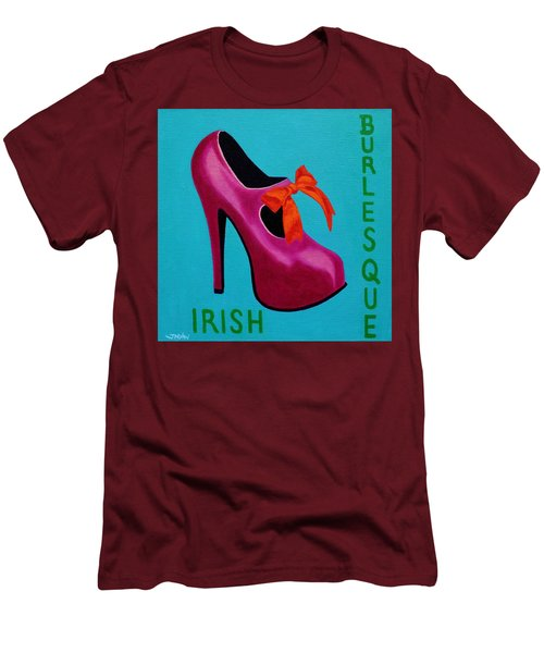 Irish Burlesque Shoe    Men's T-Shirt (Athletic Fit)