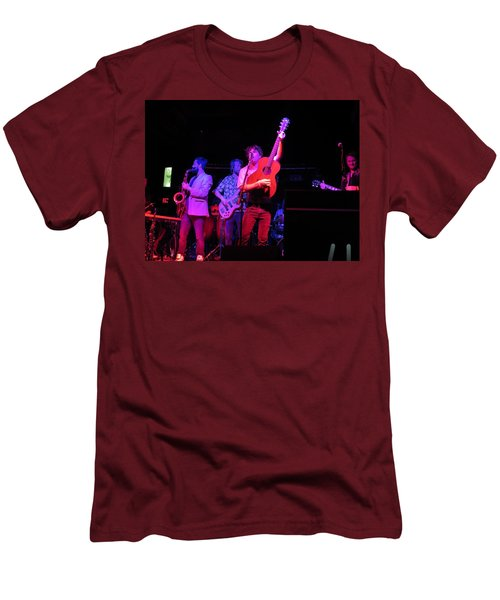 Men's T-Shirt (Athletic Fit) featuring the photograph Jammin by Aaron Martens