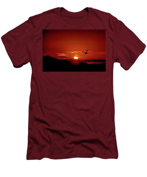 Journey Home Men's T-Shirt (Slim Fit) by Mark Dunton