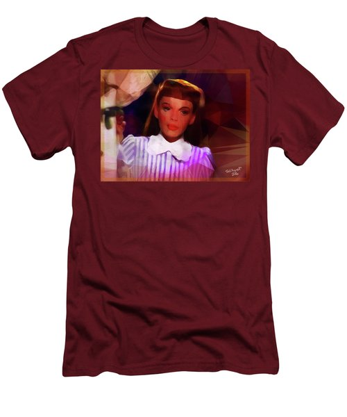Judy Garland Men's T-Shirt (Slim Fit) by Ted Azriel