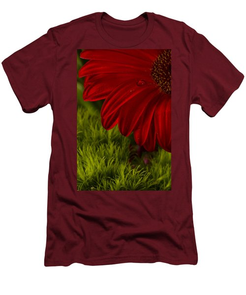Just A Drop Men's T-Shirt (Slim Fit) by Marlo Horne