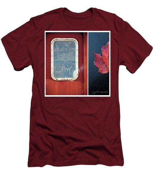 Juxtae #14 Men's T-Shirt (Slim Fit) by Joan Ladendorf