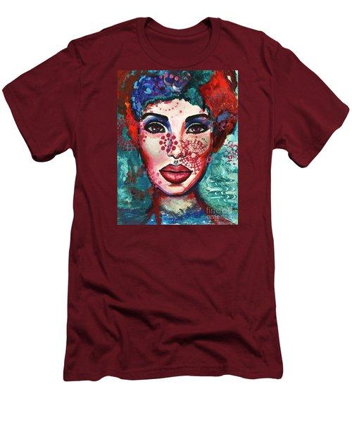 Kaleidoscope Men's T-Shirt (Athletic Fit)