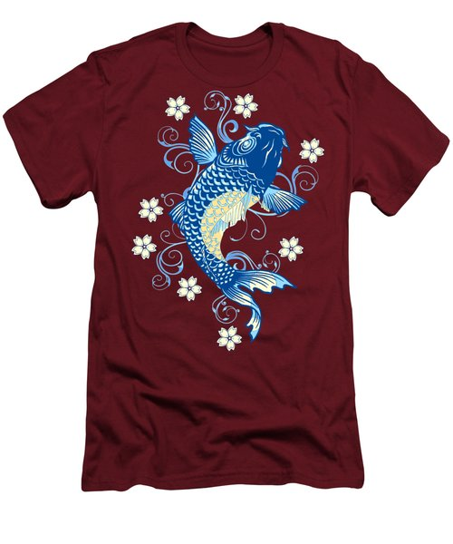 KOI Men's T-Shirt (Slim Fit) by Otis Porritt