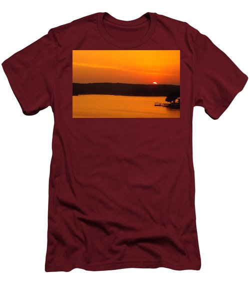 Lake Of The Ozarks 1 Men's T-Shirt (Slim Fit) by Don Koester