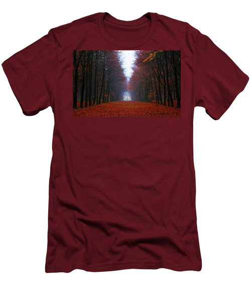 Late Fall Forest Men's T-Shirt (Athletic Fit)