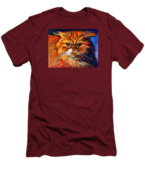 Life Isn't Easy Men's T-Shirt (Slim Fit) by Maxim Komissarchik