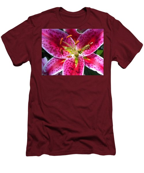 Lily Men's T-Shirt (Slim Fit) by Mary-Lee Sanders